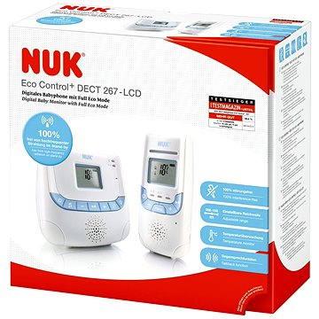 NUK Chůvička Eco Control s displejem (4008600131694)