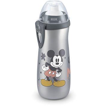 NUK láhev Sports Cup, 450 ml - Mickey, šedá