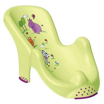 OKT Lehátko do vany HIPPO - zelené (OK-H8619_ZELENÁ)