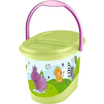 OKT Koš na pleny HIPPO - zelený (OK-H1801_ZELENÁ)