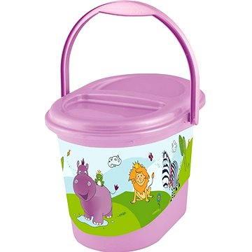 OKT Koš na pleny HIPPO - fialový (OK-H1801_SV.FIALOVÁ)