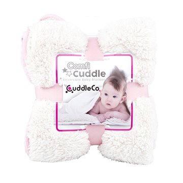 Cuddle Co. Dětská deka Blush (5060295841295)