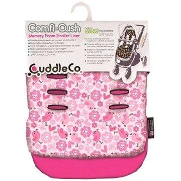 Cuddle Co. Podložka do kočárku Flowers (5060295842698)