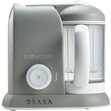 Beaba BABYCOOK SOLO šedý (3384349124618) + ZDARMA Nástavec Beaba Nástavec do vařiče BABYCOOK