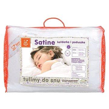 Senna baby SATINE Peřinka a polštářek - univerzální (5906197803613)