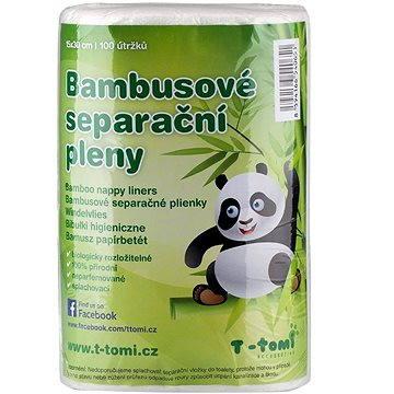 T-tomi Bambusové separační pleny (8594166540651) + ZDARMA Dětský olej Chicco Olej masážní 200 ml