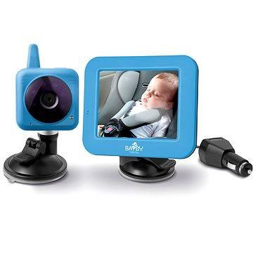 BAYBY BBM 7030 Digital video auto chůvička (8590669181018) + ZDARMA Dětská dárková sada BAYBY Dárková sada 6m+ modrá