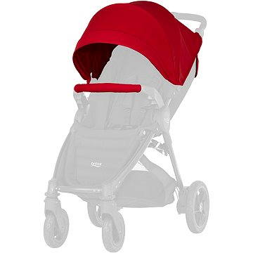Britax set ke kočárku - Flame Red (4000984141061)