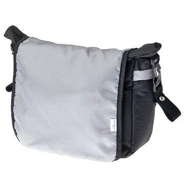 Caretero taška na kočárek - černá/béžová (8596164012888)