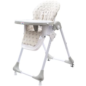 New Baby Jídelní židlička Gray Star (8596164044674)