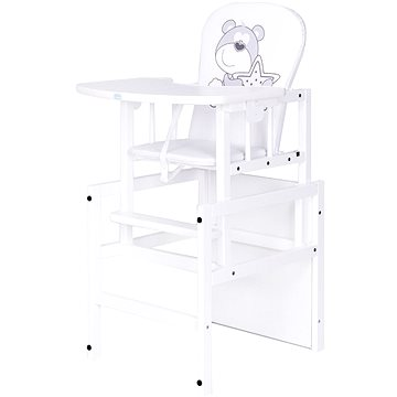 New Baby Borovicová židlička Medvídek (5902622003511)