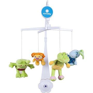 SUN BABY Plyšové hračky (žába, lev,krokodýl, zajíček) (5907478647506)