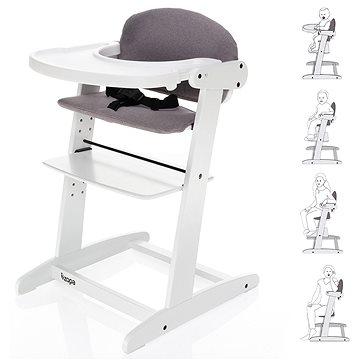 ZOPA Grow-up rostoucí židlička White/Grey (8595114415922)