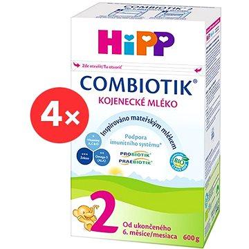 HiPP 2 BIO Combiotik - 4× 600 g (9062300428176)