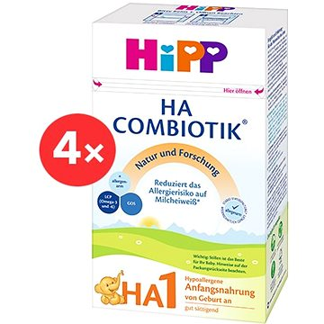 HiPP HA 1 Combiotik - 4× 500 g (4062300119673)