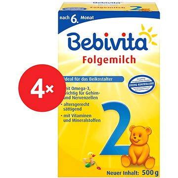 Bebivita 2 - 4× 500 g (4018852017790)