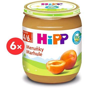 HiPP BIO Meruňky - 6× 125 g (9062300401728)