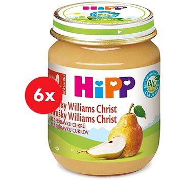 HiPP BIO Hrušky Williams-Christ - 6× 125 g (9062300405863)