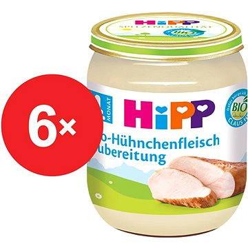 HiPP BIO Kuřecí maso - 6× 125 g (4062300266391)