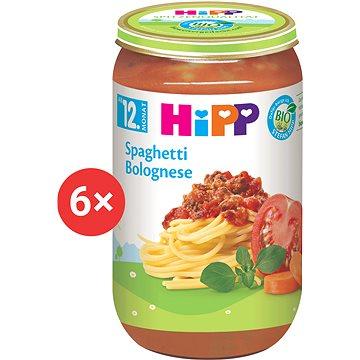 HiPP BIO Boloňské špagety - 6× 250 g (4062300266537)