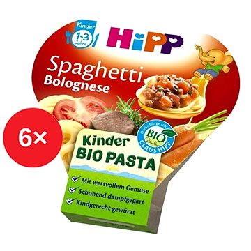 HiPP BIO Boloňské špagety - 6× 250 g (9062300424352)