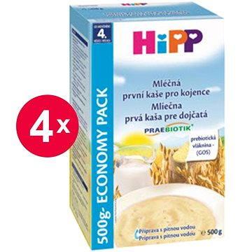 HiPP Mléčná první kaše pro kojence Praebiotik - 4× 500 g (9062300427148)