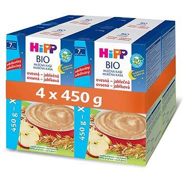 HiPP BIO Mléčná kaše na dobrou noc ovesná-jablečná - 4× 500 g (9062300430995)