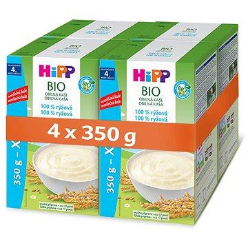 HiPP BIO Obilná kaše rýžová - 4× 350 g (9062300430469)