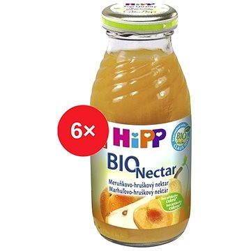 HiPP BIO Meruňkovo-hruškový nektar - 6× 200 ml (9062300430148)
