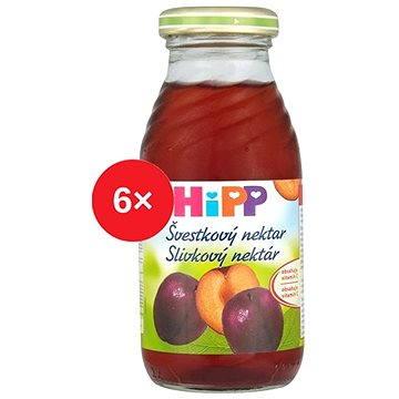 HiPP BIO Švestkový nektar - 6× 200 ml (9062300430278)