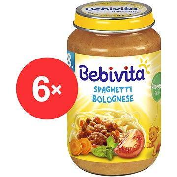 Bebivita Boloňské špagety - 6× 220 g (4018852104308)