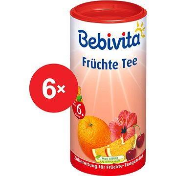 Bebivita Ovocný čaj - 6× 200 g (9007253402972)
