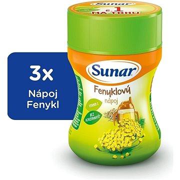 Sunárek instantní nápoj fenykl - 3× 200 g (43720600)