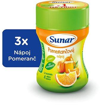 Sunárek instantní nápoj pomeranč - 3× 200 g (43740600)