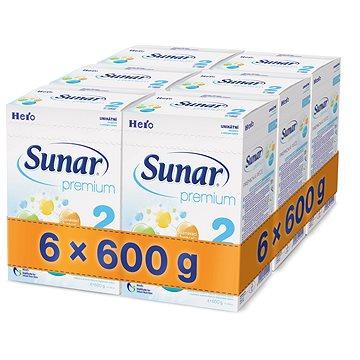 Sunar Premium 2 - 6× 600 g (41423600)