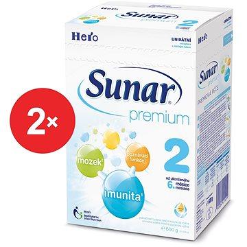 Sunar Premium 2 - 2× 600 g + DÓZA (41421525)