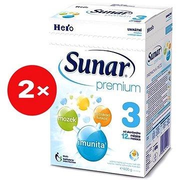 Sunar Premium 3 - 2× 600 g + DÓZA (41431525)