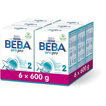 Nestlé BEBA OPTIPRO 2 - 6× 600 g (12298568)