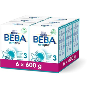 Nestlé BEBA OPTIPRO 3 - 6× 600 g (12298501)