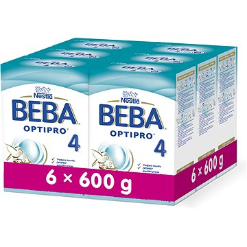 Nestlé BEBA OPTIPRO 4 - 6× 600 g (12301611)