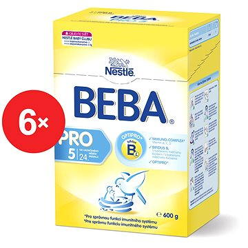 Nestlé BEBA OPTIPRO 5 - 6× 600 g (12298453)