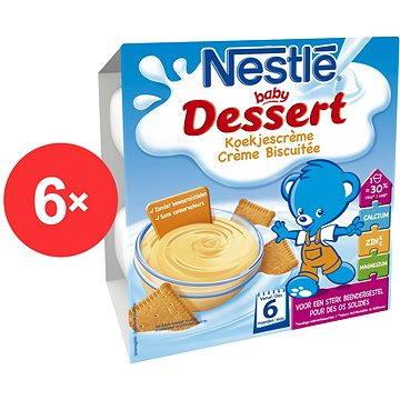 Nestlé BABY DESSERT Sušenkový - 6× (4× 100 g) (12298758)