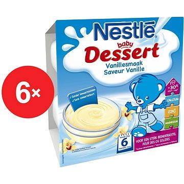 Nestlé BABY DESSERT Vanilkový - 6× (4× 100 g) (12298759)