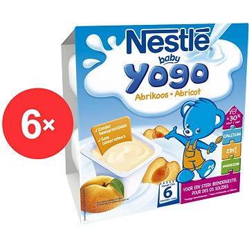Nestlé BABY YOGO Meruňka - 6× (4× 100 g) (12229955)