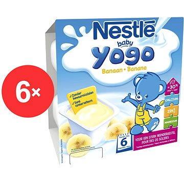 Nestlé BABY YOGO Banán - 6× (4× 100 g) (12229956)