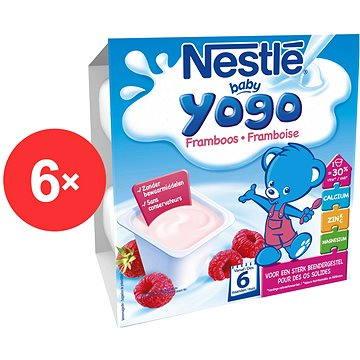 Nestlé BABY YOGO Malina - 6× (4× 100 g) (12230149)
