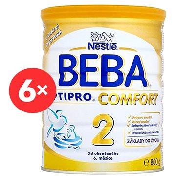 Nestlé BEBA 2 OPTIPRO Comfort - 6× 800 g (12319621)
