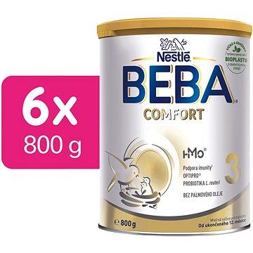 Nestlé BEBA 3 OPTIPRO Comfort - 6× 800 g (12319620)