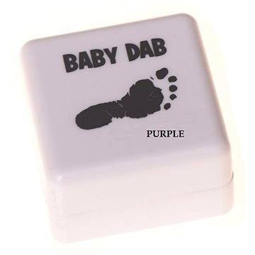 Baby Dab na dětské otisky - fialová (8594173090026)
