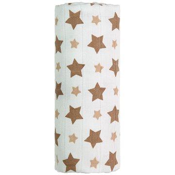 T-tomi Bambusová osuška 1 ks - béžové hvězdičky (8594166541276)